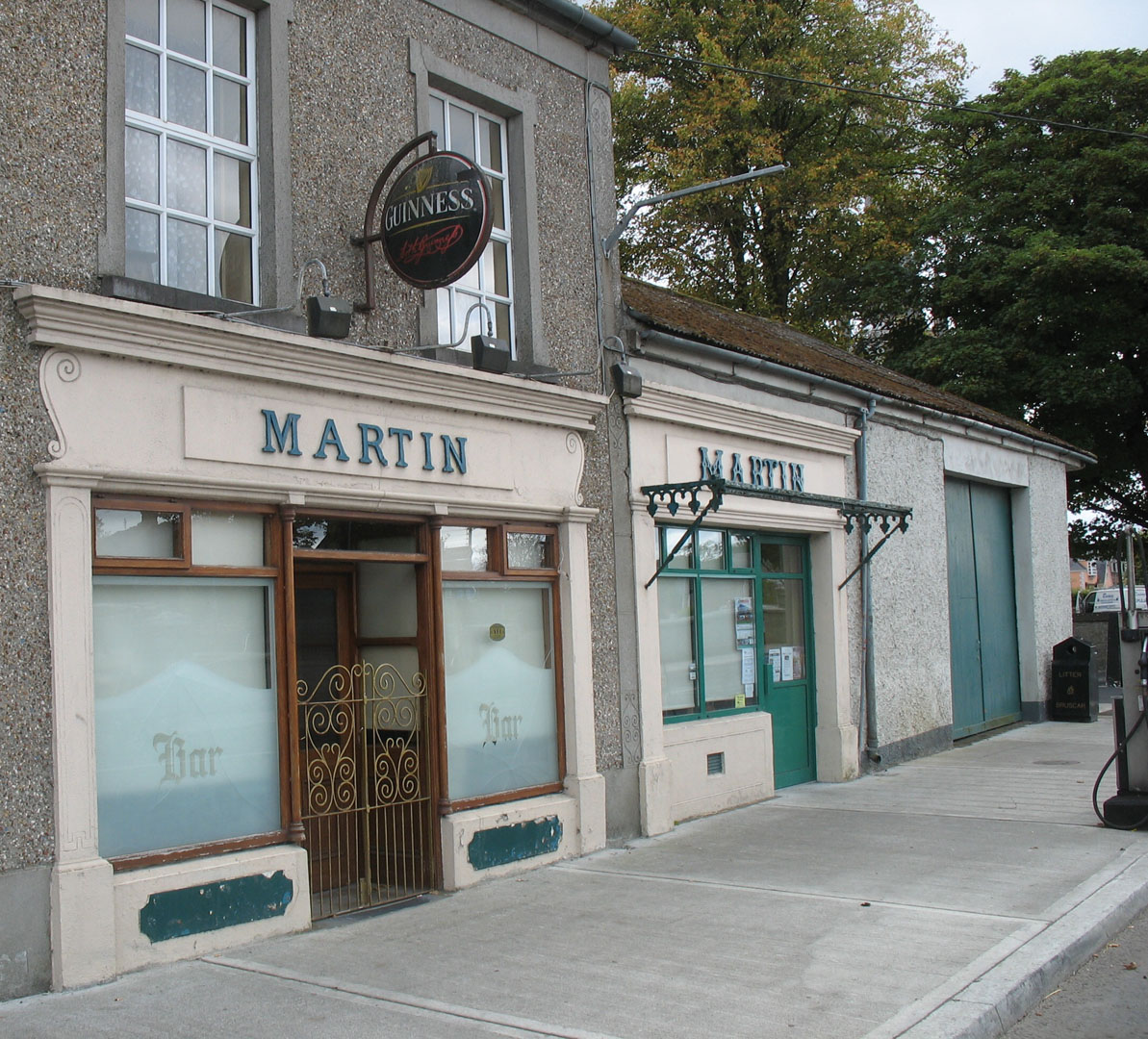 1080 #5F4B38 Billy Martin's 'night Pub' In Portumna With Store And Garage  save image Martin Overhead Doors 36771193