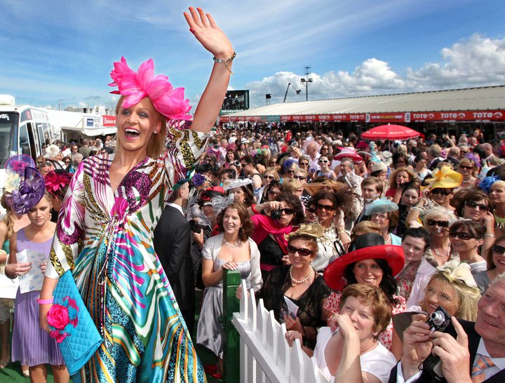 The fashion stakes at the Galway Races