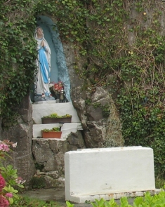 A roadside shrine on the Aran Islands