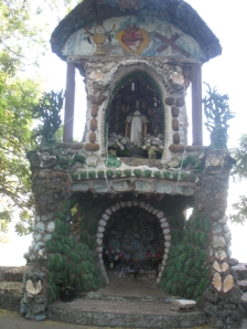 A roadside shrine near our home in Dili
